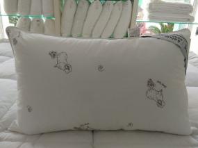 柔软枕提花枕芯